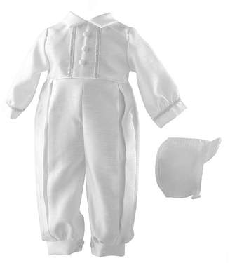 Keepsake Christening Boys 2-pc. Overall Set-Baby