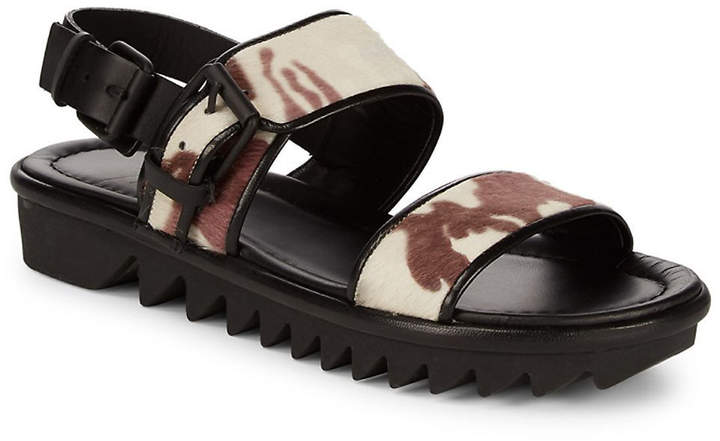 Giuseppe Zanotti Nappa Strapped Leather Sandals