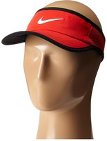 Nike Court Featherlight Tennis Visor (Medium/Large, University Red/Black/White)
