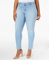 Jessica Simpson Trendy Plus Size Palace Wash Super-Skinny Jeans