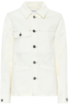 Frame Carpenter Color denim jacket
