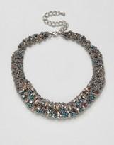 NY:LON Vintage Style Embelllished Necklace