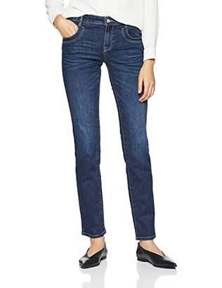 Tom Tailor NOS) Women's Streight Leg Jeans Mit Weitem Bein Alexa, Gewaschen Slim,34W/30L