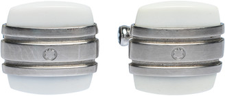 Montblanc Classic Collection Chalcedony & Stainless Steel Cufflinks