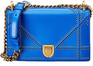 Christian Dior Diorama Leather Shoulder Bag