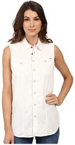 G Star G-Star Tacoma Straight Shirt in Lightweight White Lopp Denim