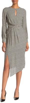 Reiss Dahlia Check Print Dress