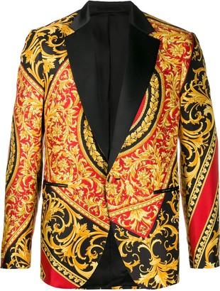 Versace Barocco print blazer