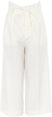 RED Valentino Belted Cropped Pants