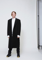 Raf Simons Black Long Coat