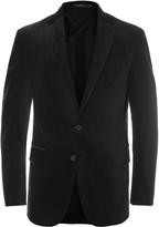 Polo Ralph Lauren - Black Slim-fit Stretch-cotton Corduroy Suit Jacket