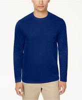 Tasso Elba Men's Performance Textured T-Shirt, Created for Macy's