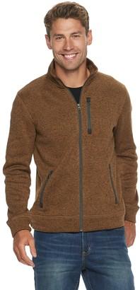Sonoma Goods For Life Men's Supersoft Full-Zip Fleece Sweater