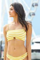 Billabong Sunny Rib Stripe Tube Bikini Top Yelm M