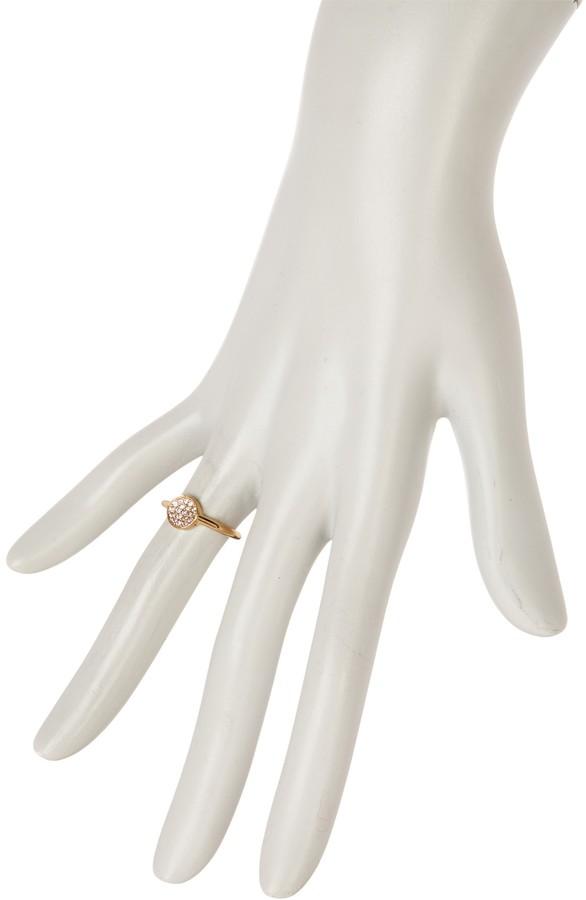 Melinda Maria Pave Pod Ring - Size 5