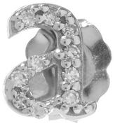 KC Designs Rose Gold Diamond A Single Stud Earring
