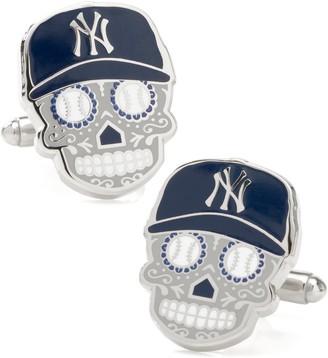 Cufflinks Inc. New York Yankees Sugar Skull Cuff Links