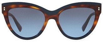 Valentino 54MM Cat-Eye Sunglasses