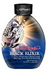Ed Hardy Elixir Silicone Bronzer Tattoo Fade Protection Tanning Lotion, 13.5 oz, Black
