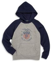Ralph Lauren Toddler's, Little Boy's & Boy's Hooded Graphic Sweatshirt