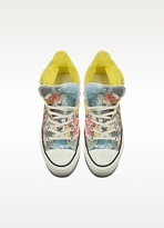 Converse Limited Edition All Star High-top Paradise Printed Canvas Platform Eva Sneaker