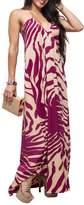 Ramona Larue Ramona La Rue Spiral Print Dress
