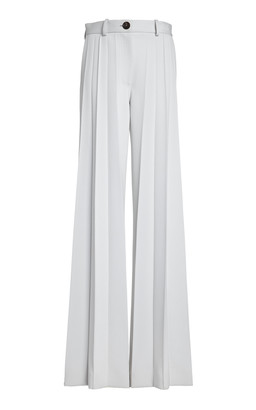 Peter Do Pleated Twill Wide-Leg Trousers