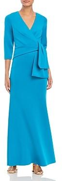 Eliza J Side Drape A-Line Gown