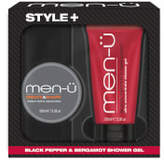 Menu men-u Style+ Black Pepper & Bergamot Shower Gel 100ml - Create & Shape