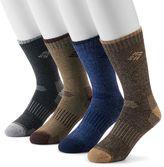 Columbia Men's 4-pack Moisture-Control Crew Socks