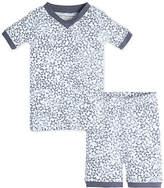 Burt's Bees Baby Sheriffs Stars Organic Cotton Short Sleeve Pajamas