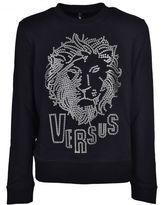 Versus Lion Head Print Sweatshirt