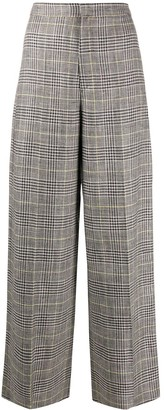 Isabel Marant Trevi check-pattern trousers