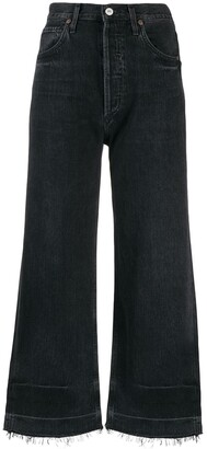 Citizens of Humanity Flared Cropped Jeans