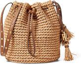 Ralph Lauren Janice Straw Bag