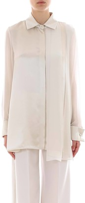 Max Mara Band Detail Shirt