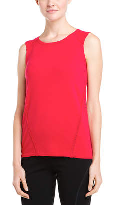 Lafayette 148 New York Spark Crochet Seam Wool Top