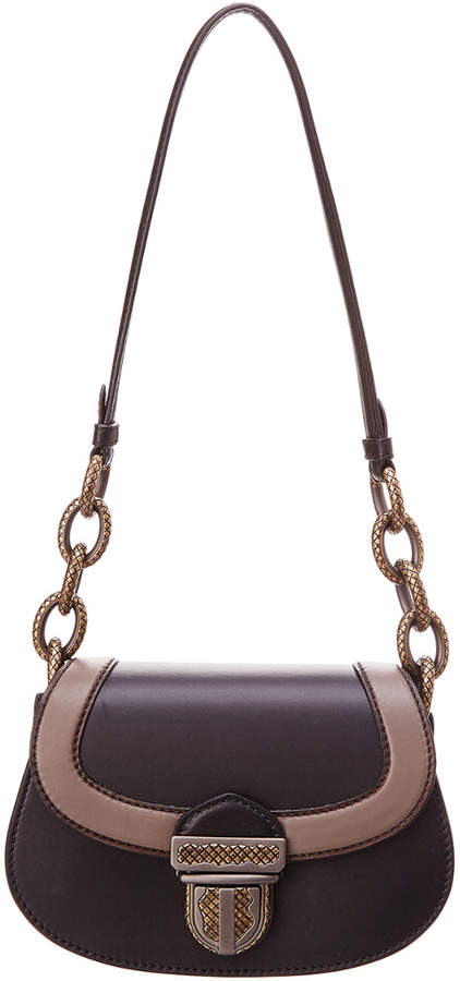 Bottega Veneta Umbria Leather Shoulder Bag