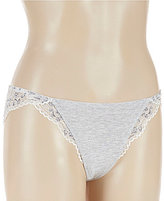 Le Mystere Comfort Chic Lace-Trimmed Bikini Panty