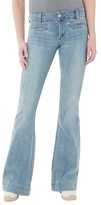 Women's Low Rise Flare Jean Light Wash - Dittos (Juniors')