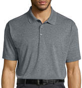 Haggar Short-Sleeve Poly Polo