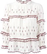 Etoile Isabel Marant Daniele blouse - women - Linen/Flax/Polyester - 42