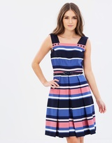 Review Chrysalis Stripe Dress