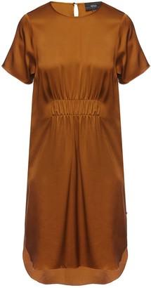 Nissa Side Slit Viscose Dress