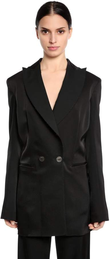 Loewe Double Breasted Long Tuxedo Jacket
