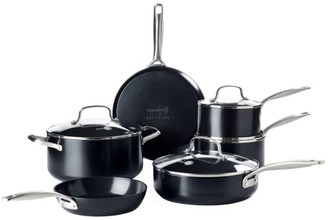 Green Pan Fusion Pro 10-Piece Nonstick Stainless Steel & Ceramic Cookware Set