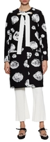Proenza Schouler Cocoon Cotton Printed Coat