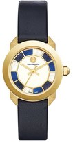Tory Burch Whitney Leather Strap Watch, 35mm