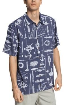 Quiksilver Men's Knots and Stuff Shirt