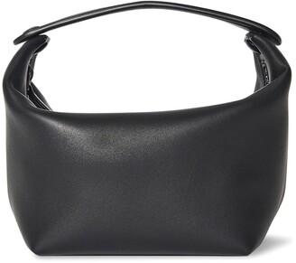 The Row Les Bains Leather Top Handle Bag